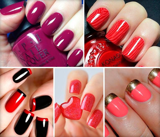 Манікюр під червоне плаття: ідеї дизайну нігтів з фото для ...