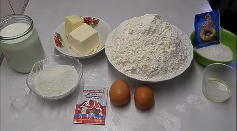Булочки з дріжджового тіста в духовці - 6 докладних рецептів приготування булочок в духовці